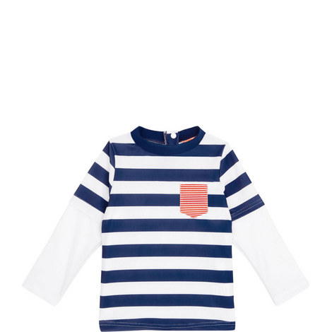 Striped Rash Vest Baby, ${color}