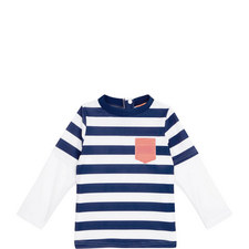 Striped Rash Vest Baby