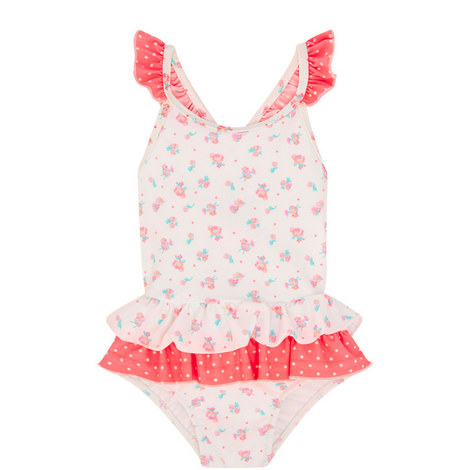 Ditsy Rose Swimsuit Baby, ${color}