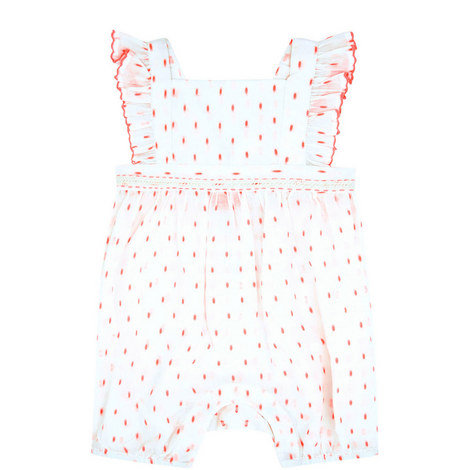 Ditsy Rose Romper Baby, ${color}