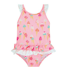 Ice Cream Frill Swimsuit Baby