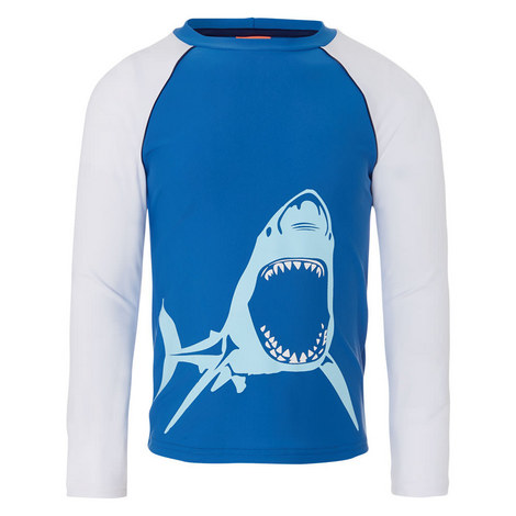 Shark Rash Vest Boys, ${color}
