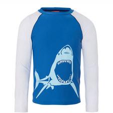 Shark Rash Vest Boys