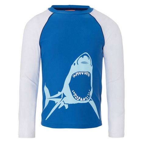 Shark Rash Vest Teens, ${color}
