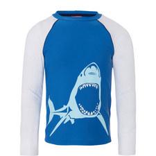 Shark Rash Vest Teens