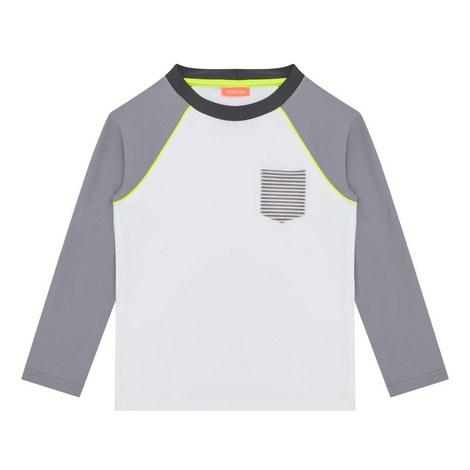 Striped Rash Vest Boys, ${color}