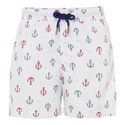 Anchor Print Swim Shorts Teens, ${color}