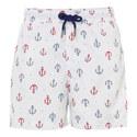 Anchor Print Swim Shorts Teens, ${color}