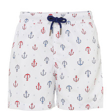 Anchor Print Swim Shorts Teens
