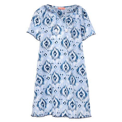 Ikat Kaftan Dress Kids, ${color}