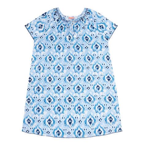 Ikat Kaftan Dress Teens, ${color}