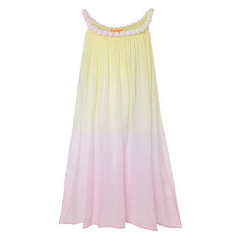 Pom-Pom Ombré Dress Teens, ${color}