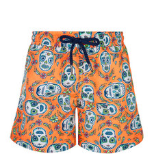 Skull Print Swim Shorts Toddler