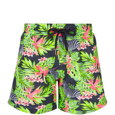 Zebra Print Swim Shorts Teens