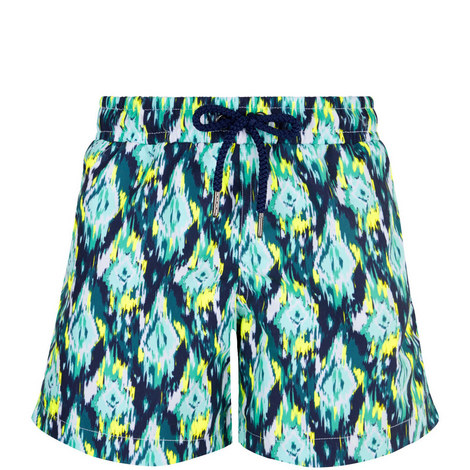 Printed Swim Shorts Toddler, ${color}