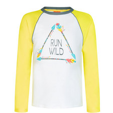 Raglan Long Sleeve Rash Top Teens