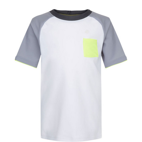 Raglan Rash Vest Teens, ${color}