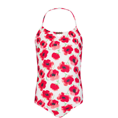 Poppy Beaded Swimsuit Teens, ${color}