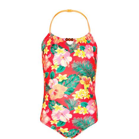 Aloha Beaded Swimsuit Teens, ${color}