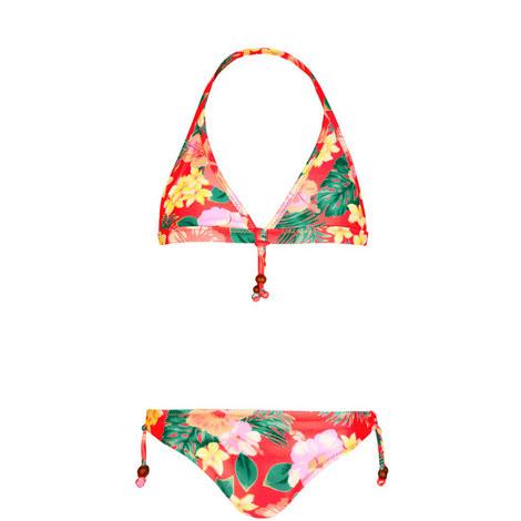 Aloha Beaded Bikini Kids, ${color}