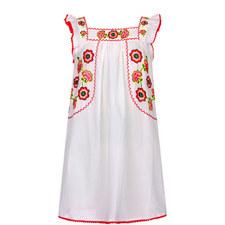Mexicana Flutter Dress Teens