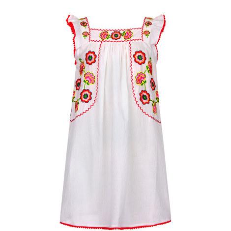 Mexicana Flutter Dress Toddler, ${color}