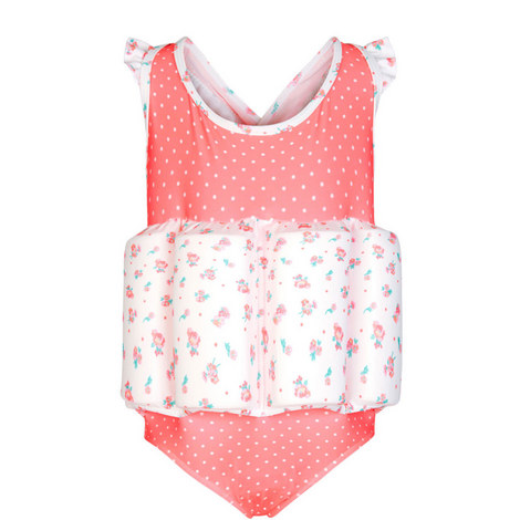 Ditsy Rose Floatsuit Baby, ${color}