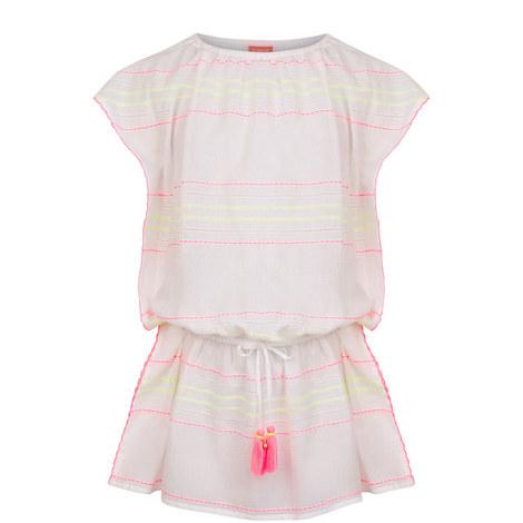 Boho Whipstitch Dress Kids, ${color}