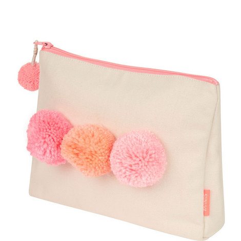 Pom Pom Wash Bag, ${color}