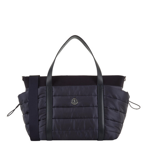 8f7d1f30f392 MONCLER JUNIOR Quilted Baby Changing Bag