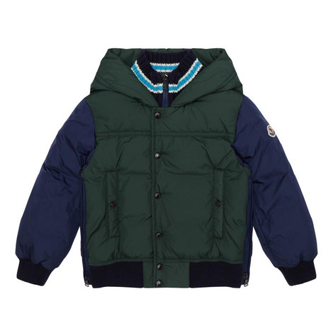 Luke Quilted Jacket 4-10 Years, ${color}