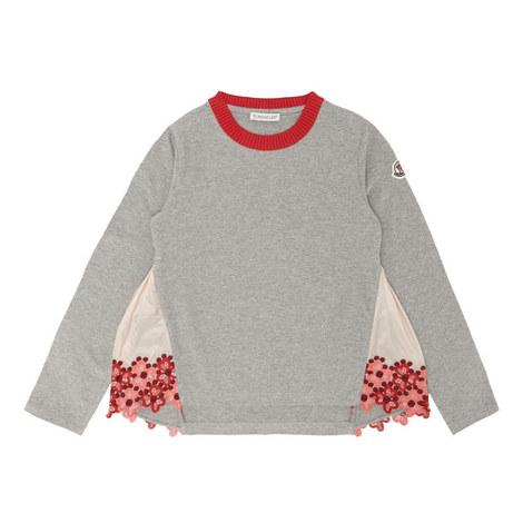 Floral Sweatshirt Kids, ${color}