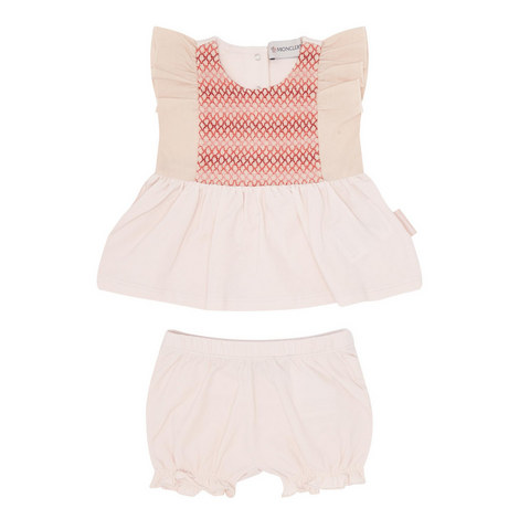 Two-Piece Embroidered Dress Baby, ${color}
