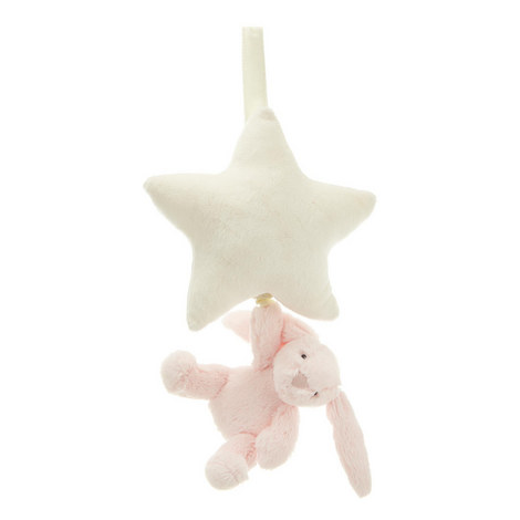 Bashful Bunny Musical Star Toy, ${color}