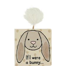 'If I Were A Rabbit' Textured Book