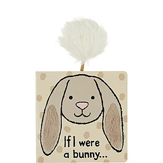 'If I Were A Rabbit' Textured Book