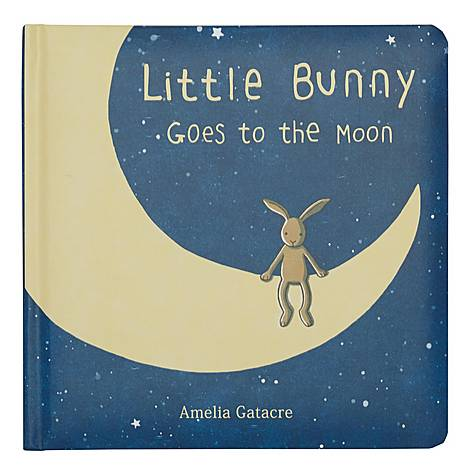 Little Bunny Goes To The Moon Book, ${color}