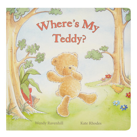 Where's My Teddy Book, ${color}