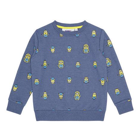 Minions Motif Sweatshirt, ${color}