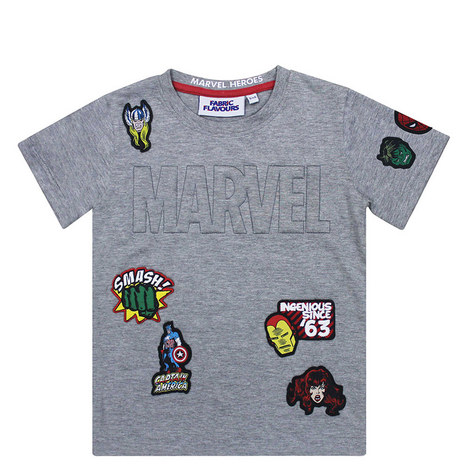Marvel Patch T-Shirt, ${color}