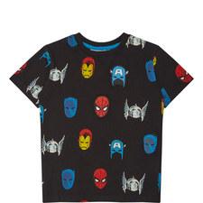 Marvel Heroes T-Shirt Kids