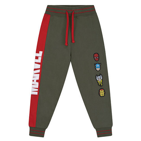 Marvel Green Logo Sweatpants, ${color}