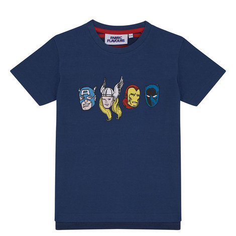 Marvel Hero Heads T-Shirt, ${color}