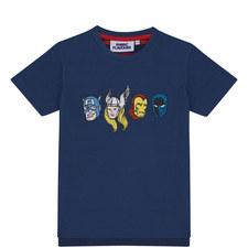 Marvel Hero Heads T-Shirt