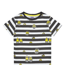 Minions Stripe T-Shirt Kids