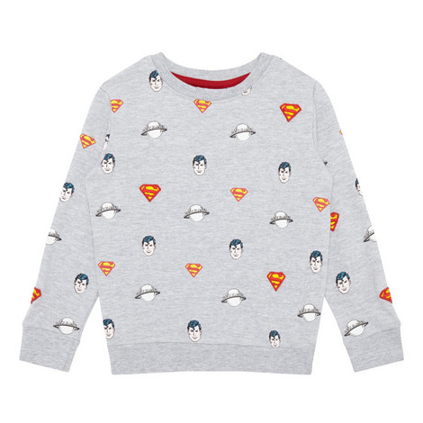 Superman Repeat Sweatshirt, ${color}