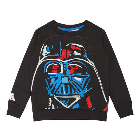 Darth Vader Embroidered Sweatshirt, ${color}