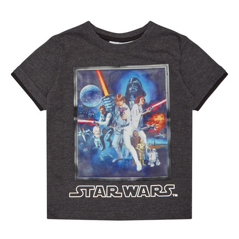 Star Wars Anniversary T-Shirt Kids, ${color}