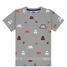 Starwars Grey Emperial Tshirt