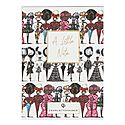 Fashion Six Pack Notecards, ${color}